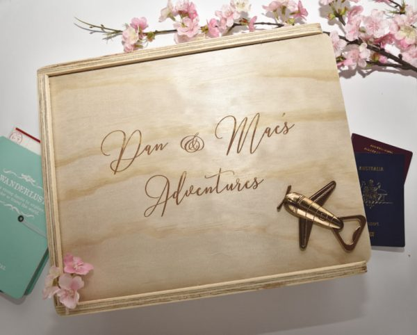 custom engraved gift box adventure gift box
