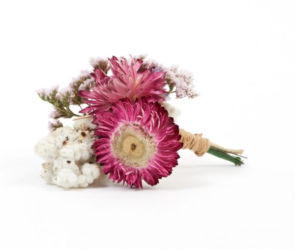 dried flower arrangement bumble and bloom