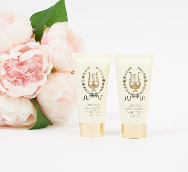 mor handcream snow gardenia