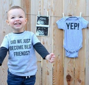Brother announcing pregnancy of best friend