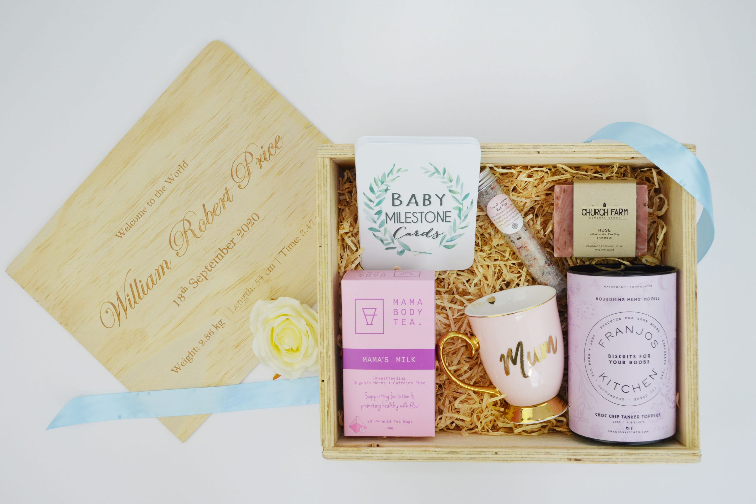 welcome to the world hamper