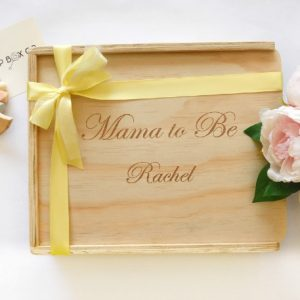 custom engraved personalised mum to be gift box