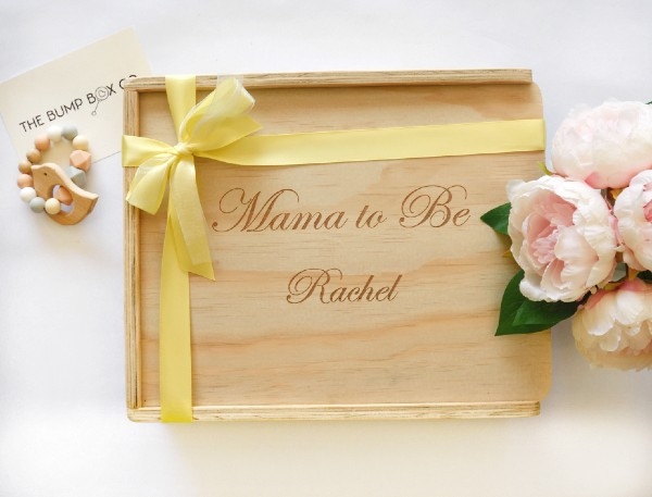 custom engraved personalised mum to be gift box