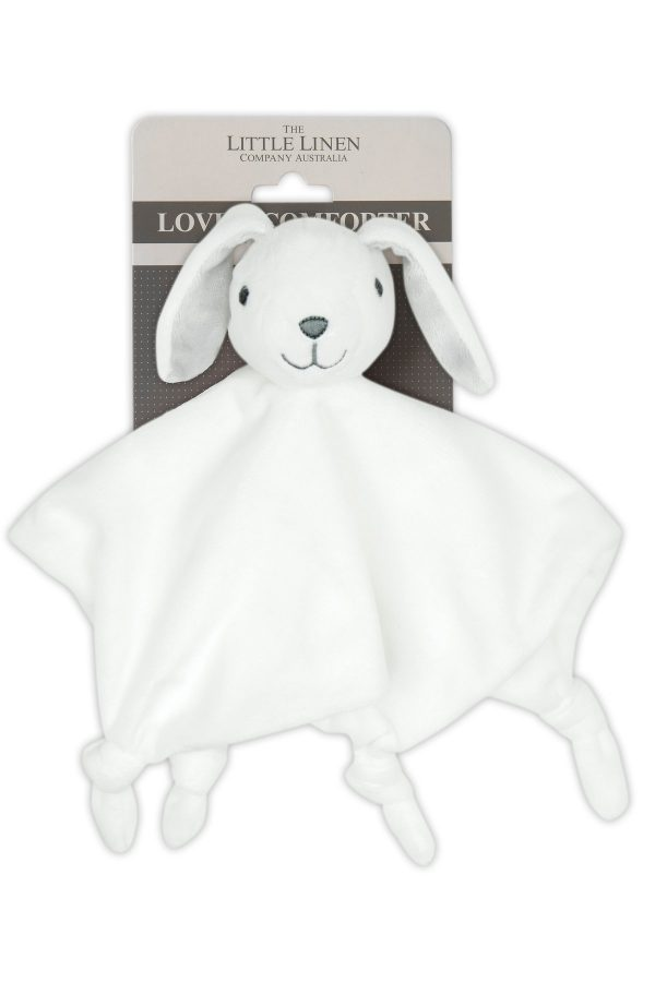 bunny comforter from the little linen company