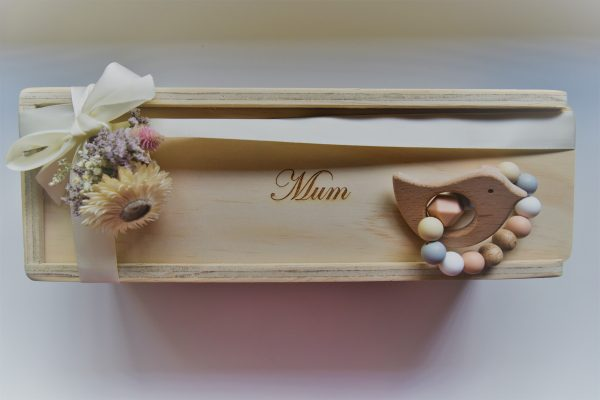 mum single champagne gift box