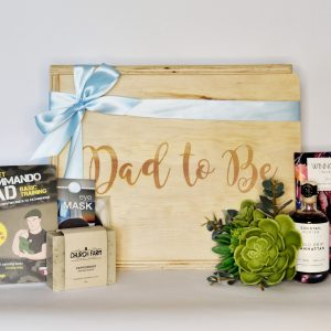dad to be new dad gift hamper