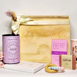New Mum new Baby gift hamper Welcome to the World