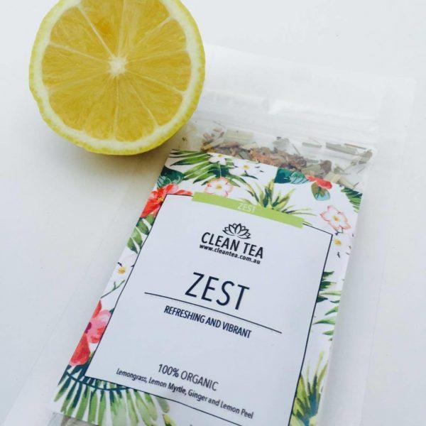 zest pregnancy safe tea from clean tea morning sickness