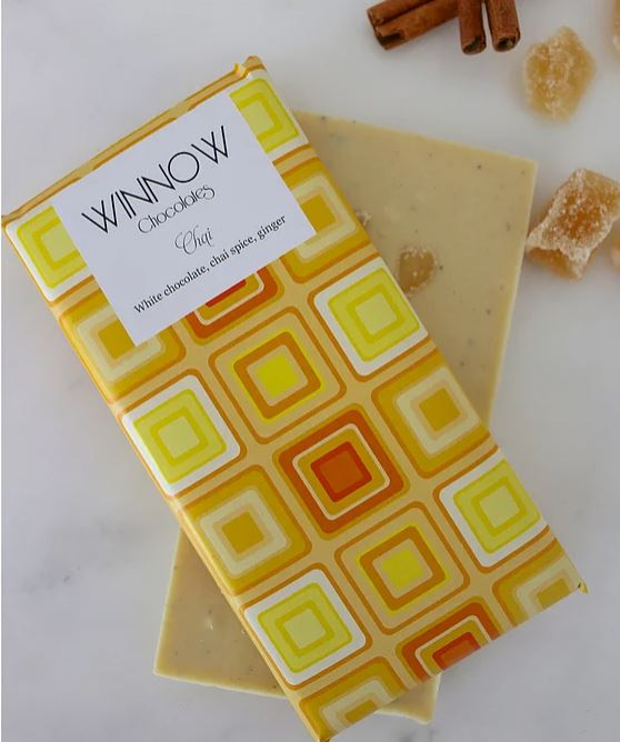 winnow chocolate handmade white chocolate and chai