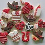 cowboy themed cookies