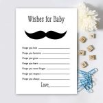 baby wishes moustache