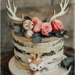 cake ideas woodland baby shower