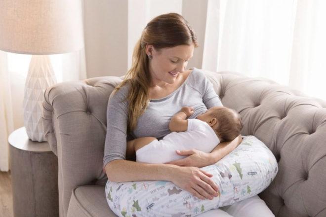 The Boppy nursing pillow
